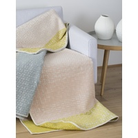 PINK DECO BOUCLEE THROW
