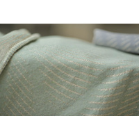 MINT MOIRE EFFECT DIVA THROW