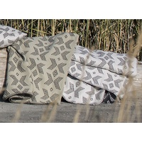 LIGHT GREY XXX AFRICAN STYLE NOVA THROW