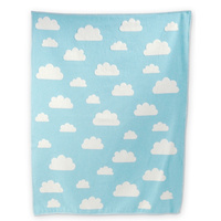 JADE CLOUDS ALL OVER FINN COT