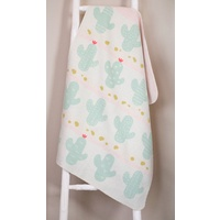 ALL OVER CACTUS JUWEL BASSINET BLANKET
