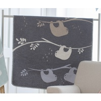 GREY SLOTHS JUWEL BASSINET BLANKET