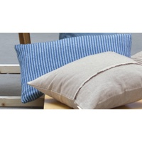 BLUE LIDO STRIPES CUSHION 40X60