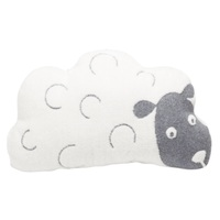 GREY SHEEP DECO CUSHION FILLED
