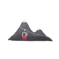 CHARCOAL MOUNTAIN GONDOLA CUSHION