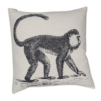 OFF WHITE MONKEY NOVA CUSHION 60 X 60cm