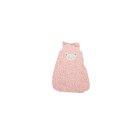 ROSE CAT DOTS SLEEPING BAG 1YR