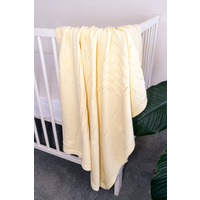 YELLOW PATCH BLANKET
