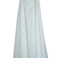 BLUE & GREEN GELATI STAR MUSLIN WRAP
