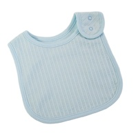 BLUE SELF STRIPE 1 PC. BIB