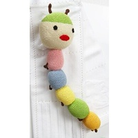 CATERPILLAR CROCHET RATTLE
