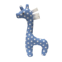 BLUE GERRY GIRAFFE RATTLE