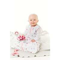 FIELD OF FLOWERS MUSLIN SLEEPING BAG SIZE 1-2 YEARS