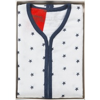NAVY STAR MUSLIN SLEEP BAG 1-2 YEARS