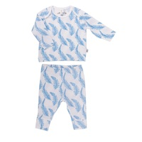 FEATHER ORGANIC TOP & PANTS SET 0-3 months (000)