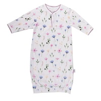 FLEUR ORGANIC COTTON SLEEP SACK 0-3 MONTHS (000)