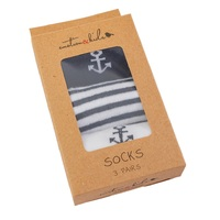 Anchor Socks 3 Pack