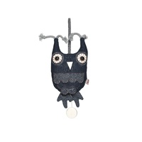 DENIM HENDRICK OWL MUSIC BOX