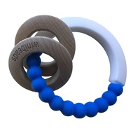 ROYAL BLUE&WHITE COMBI TEETHER