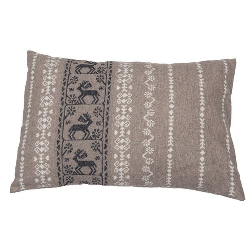 SMOKE STAG FOLKLORIST CUSHION 40 X 60 CMS